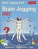 Brain Jogging Tagesabreißkalender 2022 - Wissenskalender mit Denksportaufgaben und Rätseln - Tischkalender zum Aufstellen oder Aufhängen - 12,5 x 16 ... Konzentration. Logik. Wissenskalender