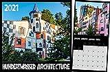 Hundertwasser Broschürenkalender Architektur 2021
