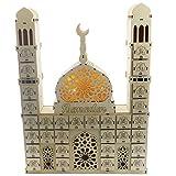hfior Ramadan Adventskalender Eid Mubarak Dekoration Holz Countdown Schublade Für Muslim Festival DIY