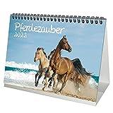 Pferdezauber DIN A5 Tischkalender für 2022 Pferde und Fohlen - Seelenzauber
