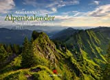 Ackermanns Alpenkalender Kalender 2021, Wandkalender im Querformat (45x33 cm) - Landschaftskalender / Naturkalender