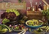 Culinaria - Der große Küchenkalender 2021 - Bild-Kalender 42x29 cm (42x58 geöffnet) - Rezeptkalender - inkl. Saisonkalender - mit Platz für Notizen - Alpha Edition