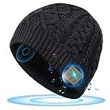 SOOFUN Personalisierte Geschenke Männer Bluetooth Mütze - 2020 Adventskalender zum Befüllen, Unisex Musik Bluetooth 5.0 Kopfhörern Mütze für Radfahren/Ski, Mann/Frauen/Papa