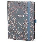 Boxclever Press Everyday Kalender 2021. Taschenkalender 2021 von Jan.-Dez.'21. Terminplaner 2021 mit Seiten für Budget, To-do-Listen und Monatsübersichten. (Grau)