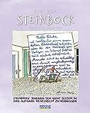 Steinbock 2022: Sternzeichenkalender-Cartoonkalender als Wandkalender im Format 19 x 24 cm.