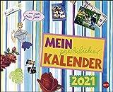 Gabi Kohwagner: Mein persönlicher Kalender 2021 - Monatsplaner mit viel Platz für Notizen - Format 30 x 24,3 cm (geöffnet 30 x 48,6 cm)