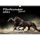 Pferdezauber DELUXE DIN A3 Kalender für 2021 Pferde - Seelenzauber