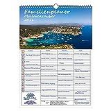 Familienplaner - Mallorcazauber DIN A3 Kalender für 2021 Mallorca - Seelenzauber