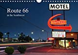 Route 66 in the Southwest (UK-Version) (Wall Calendar 2021 DIN A4 Landscape)