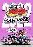 MOTOmania Kalender 2022: Monatskalender für die Wand im Großformat: Wandkalender für Motorradfahrer und Biker