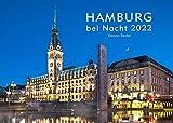 Edition Seidel Hamburg bei Nacht Premium Kalender 2022 DIN A3 Wandkalender Deutschland Europa Norddeutschland Hafen Alster Landungsbrücken Elbphilharmonie Speicherstadt Alster Wasserstraßen Schiffe