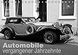 Automobile vergangener Jahrzehnte (Tischkalender 2021 DIN A5 quer)