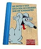 Uli Stein – Schülerkalender 2021/2022 mit 12 Postkarten und 2 Stickerbögen: NEU: mit 12 Postkarten und 2 Stickerbögen