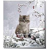 Riegelein Adventskalender Katze Kätzchen 37 x 42 cm 1er Pack (1 x 200g)