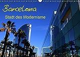 Barcelona - Stadt des Modernisme (Wandkalender 2021 DIN A3 quer)