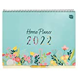 Boxclever Press Home Planer Kalender 2021 2022. 16-monatiger Kalender 2022 Wandkalender von Sept.'21-Dez.'22. Großer Familienplaner 2022 mit Seitenreitern. Wandkalender 2021 2022 mit Listen & Stickern