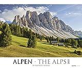 Alpen 2021 - Bild-Kalender XXL 60x50 cm - The Alps - Landschaftskalender - Natur-Kalender - Wand-Kalender - Alpha Edition: by Rainer Mirau