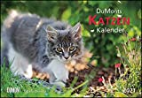 DUMONTS Katzenkalender 2021 - Broschürenkalender - Wandkalender - mit Schulferienterminen - Format 42 x 29 cm: mit kurzweiligen Katzengeschichten