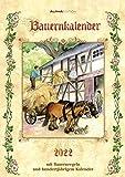 Bauernkalender 2022 - Bildkalender A3 (29,7x42 cm) - mit Feiertagen (DE/AT/CH) und Platz für Notizen - inkl. Bauernregeln - Wandkalender: Mit Bauernregeln und hundertjährigem Kalender