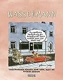 Wassermann 2022: Sternzeichenkalender-Cartoonkalender als Wandkalender im Format 19 x 24 cm.