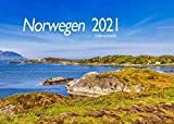 Edition Seidel Norwegen Premium Kalender 2021 DIN A3 Wandkalender Skandinavien Europa
