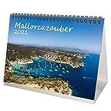 Mallorcazauber DIN A5 Tischkalender für 2021 Mallorca - Seelenzauber
