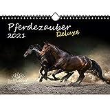 Pferdezauber DELUXE DIN A4 Kalender für 2021 Pferde - Seelenzauber