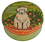 Adventskalender Tannenbaum und Hundeglück - Adventskalender mit Hundegeschichte - 24 Karten in Blechdose zum Aufhängen: Eine unvergessliche Geschichte. Adventskalender
