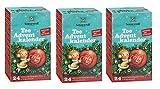 Sonnentor Tee Adventkalender mit 24 Aufgussbeuteln Bio, 3er Pack (3 x 38 g)