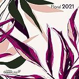 Floral - Broschurkalender - Greenline - Kalender 2021 - teNeues-Wandkalender mit zauberhaften Illustrationen und Platz für Eintragungen - 29,8 cm x 29,8 cm (offen 29,8 cm x 59,8 cm)