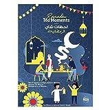 Lipton, Ramadan Momente Kalender Geschenk für Ramadan inklusive 60 Teebeutel 30 besonderen Botschaften Eid Mubarak Kalender, Grüner Tee, 1 stück