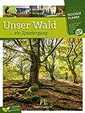 Unser Wald, ein Spaziergang - Wochenplaner Kalender 2022, Wandkalender im Hochformat (25x33 cm) - Wochenkalender mit Rätseln und Sudokus