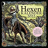 Hexenkalender 2022: Wandkalender/Broschürenkalender-30 x 30 cm: mit den wichtigsten astrologischen Daten, Ritualen, Pflanz- und Erntetagen