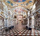 Welt der Bücher Kalender 2022, Wandkalender im Querformat (54x48 cm) - Mit den eindrucksvollsten Bibliotheken und Büchereien der Welt