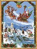 Adventskalender 'Der Nikolaus kommt': Papier-Adventskalender