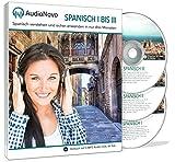 AudioNovo Spanisch I-III - Spanisch lernen für Anfänger und Fortgeschrittene | Spanisch verstehen und sicher anwenden in nur drei Monaten (Audio Sprachkurs 42Std; iOS und Android App inklusive)