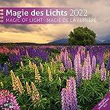 Magie des Lichts 2022, Wandkalender / Broschürenkalender im Hochformat (aufgeklappt 30x60 cm) - Geschenk-Kalender mit Monatskalendarium zum Eintragen
