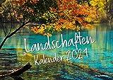 Landschafts-Kalender 2021 DIN A4 Querformat, Landschaften Kalender, Bildkalender, Landschaftskalender 2021, Naturkalender 2021 (DIN A4)