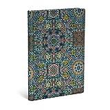 Paperblanks - Heilige tibetische Stoffe Padma - Notizbuch Midi Liniert (Sacred Tibetan Textiles)
