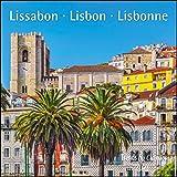 Lissabon Lisboa 2021 - Broschürenkalender - Wandkalender - mit herausnehmbarem Poster - Format 30 x 30 cm