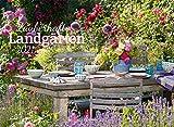 Zauberhafte Landgärten Kalender 2021, Wandkalender im Querformat (45x33 cm) - Gartenkalender