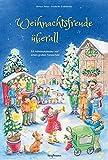 Weihnachtsfreude überall. Ein Adventskalender mit einem großen Fensterbild (Adventskalender mit Geschichten für Kinder / Ein Buch zum Vorlesen und Basteln)