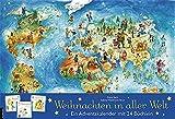 Weihnachten in aller Welt: Adventskalender mit 24 Büchern (Adventskalender mit Geschichten für Kinder: Mit 24 Mini-Büchern)
