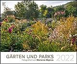 Gärten und Parks 2022 - Garten-Kalender 58x48 cm - Landschaftskalender - Natur - Wand-Kalender - Bild-Kalender